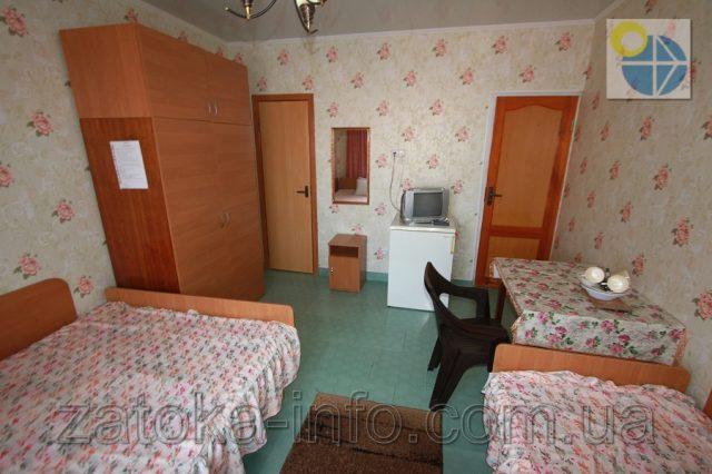 Трехместный номер люкс с удобствами без балкона - 2