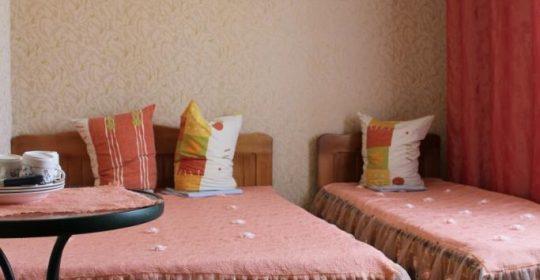 Трехместный номер стандарт с частичными удобствами в номере